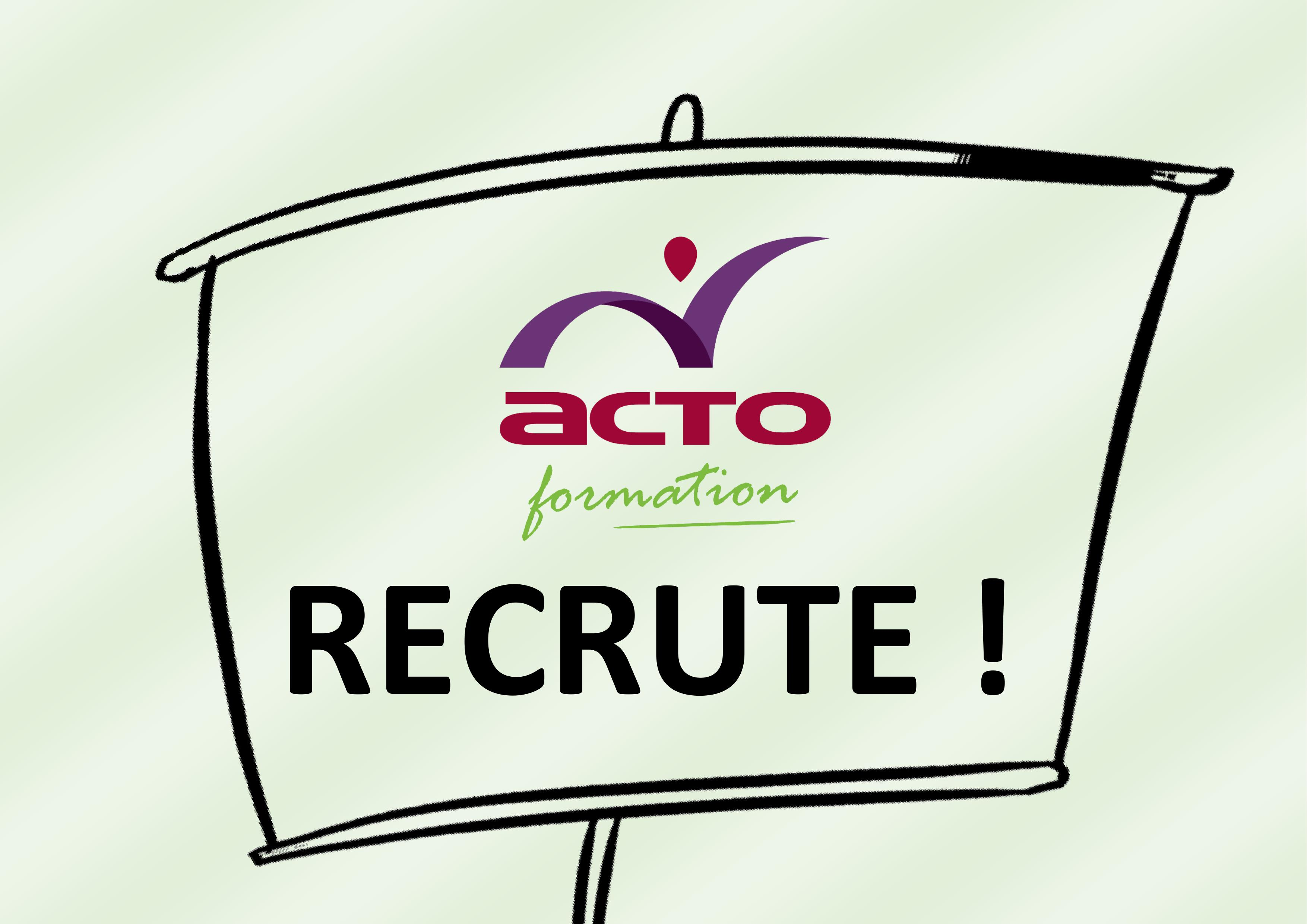 ACTO FORMATION RECRUTE