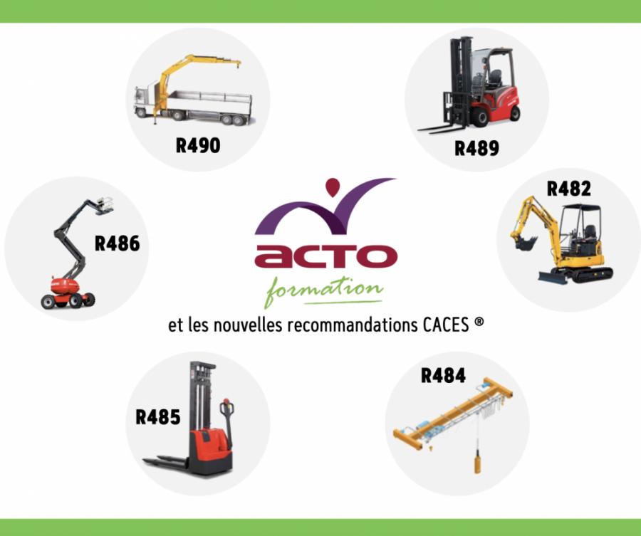 ACTO Formation et les nouvelles recommandations CACES®